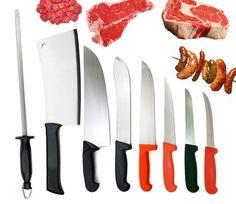 butcher knife set | DELUXE BUTCHER'S KNIFE SET
