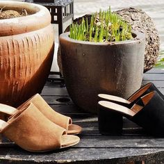 Suede Mule Sandal  #newin #ss17 #suede #sandal #allleather #biancoherning #herningcity