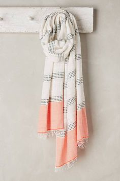 Striped Beehive Scarf by Lemlem #anthrofave #anthropologie
