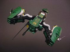 Hydra by Brian Kescenovitz Lego Cars, Lego Plane, Legos, Lego Ship, Lego Spaceship, Lego Mechs, Lego Construction, Concept Ships, Cool Lego Creations