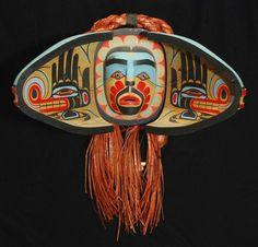 Wayne Alfred Salmon and Sisiutl Transformation Mask, 1996 Alcheringa Gallery
