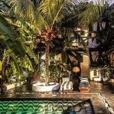 Outdoor night living, Tribal Hotel. This is happening. #getaways #travel #nicaragua