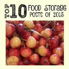 You voted and chose the top 10 food storage posts on PreparednessMama in 2015!