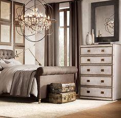 Marseilles Parchment 5-Drawer Dresser