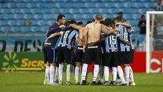 Jogadores Grêmio x Glória (Foto: Lucas Uebel/Divulgação Grêmio)