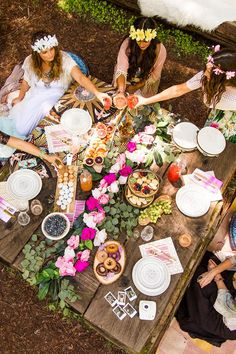 BOHO BRIDAL PARTY boho-bridal-deco
