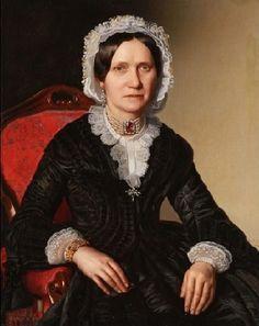 A Woman, 1854 (Ludwig Beyfuss) (1805-??) Jackson's Auctioneers, Cedar Falls, IA, June 11, 2013