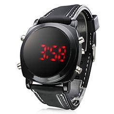 Men's Watch Sports Red LED Digital Silicone Strap. Get unbeatable discount up to 60% Off at Light in the Boxs with Coupon and Promo Codes.