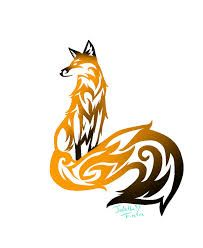 tribal fox tattoos - Google Search