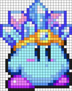 Kandi Patterns for Kandi Cuffs - Characters Pony Bead Patterns Melty Bead Patterns, Pearler Bead Patterns, Kandi Patterns, Perler Patterns, Diy Perler Beads, Perler Bead Art, Arte 8 Bits, Pixel Art Background, Pixel Art Grid