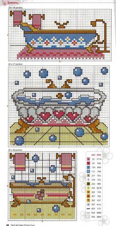 Cross Stitch Kitchen, Canvas Designs, Plastic Canvas Crafts, Crochet Accessories, Cross Stitching, Blackwork, Pixel Art, Needlepoint, Crochet Projects
