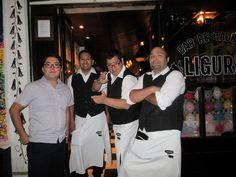 The Waiters of Liguria, Providencia Chile