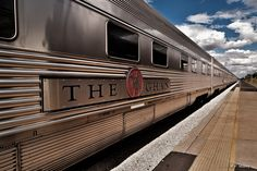 The Ghan, SA & NT (Australia). 'The legendary Ghan – named  after central Australia's pioneering  Afghan cameleers – is one of the world's  great railway journeys. There's 2979km and  42 hours of track between Adelaide and  Darwin. The Ghan isn't cheap or fast, but  the experience of rolling through the vast,  flat expanse of central Australia's deserts  is magical.' http://www.lonelyplanet.com/australia/northern-territory/alice-springs