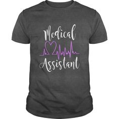 Shop Medical Assistant Certified Medical Assistant MA Apparel custom made just for you. Designed by Brandontuh Lpn Nursing, Nursing Assistant, Nursing Notes, School Shirts, Work Shirts, Nursing School Scholarships, New Career, Medical Students, Nurse Life