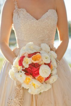 What a beautiful, color-filled bouquet!  Photography by adoristudios.com.au, Floral Design by bloomsofnoosa.com.au