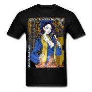 T-Shirts ~ Men's T-Shirt ~ Zombie Graduate Tiffany: CloseUp Background Flamed Horror Music, Vampire Girls, Tiffany, Cool Designs, Angels, Mens Tops, T Shirt, Clothes, Tee