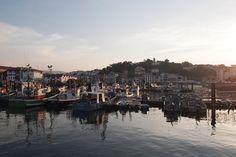 El puerto Saint Jean de Luz #atardecer
