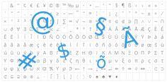 Jak napsat speciální znaky bez klávesových zkratek