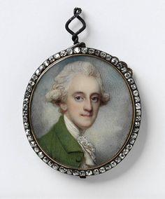 Richard Cosway, Portrait of Frederick Ponsonby, 3rd Earl of Bessborough, c.1780