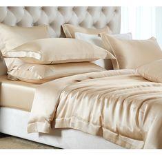 silk luxury bedding silk bedding sets sale     https://www.snowbedding.com/