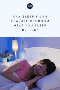 Many people report not sleeping well when they share their bed. How does bed sharing effect your sleep and is sleeping in separate bedrooms the answer?    #sleep #bed #couples Causes Of Divorce, Sleeping Together, Sleeping Alone, Trouble Sleeping, Snoring, Insomnia, Good Night Sleep, Bedtime, Separate