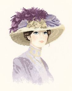 Counted cross stitch designs by John Clayton, featuring elegant ladies and gentlemen Cross Stitch Angels, Cross Stitch Kits, Cross Stitch Charts, Cross Stitch Designs, Cross Stitch Embroidery, Cross Stitch Patterns, John Clayton, Heritage Crafts, Portraits