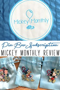 A complete review and breakdown of the Mickey Month Pin Box subscription! #disney #disneyworld | pin trading | disney pins | disney tips | disney secrets