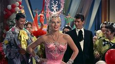 Jerry Lewis, Anita Ekberg and Dean Martin (Artists and Models)