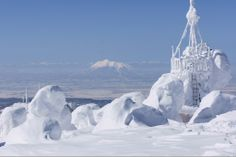 Mt. Iwaki from Mt. Hakkouda, Aomori