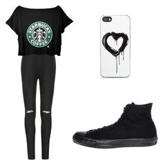 """""""Untitled #19"""" by meckensylou on Polyvore featuring Ally Fashion, Converse and Zero Gravity"""