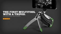 The First Multitool with a Tripod #Photography #Adventure