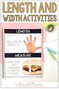 Teaching Second Grade Measurement in science? Grab fun hands on activities and worksheets for length and width that your students will love. Nonstandard Measurement, Measurement Activities, Map Activities, Hands On Activities, Second Grade Science, Teaching Second Grade, Vocabulary Word Walls, Vocabulary Cards, What Is A Scientist