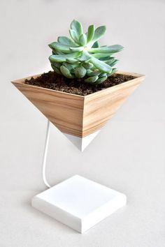succulent  planter for succulent  flower pots planter for flowers geometric Pots wood flower