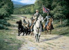 1863 - Sound of the Guns - General Lee approaching Gettysburg