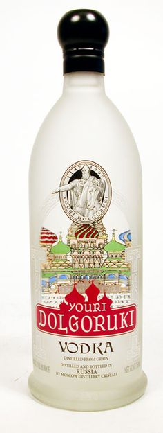 "Youri Dolgoruki Vodka http://korsvodka.com #vodka #vodkabrands www.LiquorList.com ""The Marketplace for Adults with Taste"" @LiquorListcom #LiquorList"
