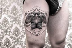 #Tattoo by Chaim Machlev - Berlin