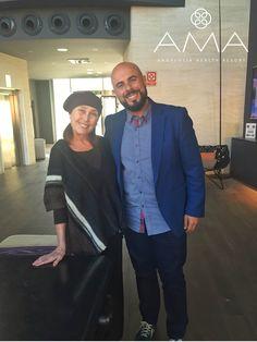 Nuestro director no se resistió a sacarse una foto con Verónica Forqué durante su estancia con nosotros :-)