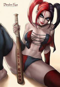 Harley Quinn (Suicide Squad Comic) by dandonfuga.deviantart.com on @DeviantArt