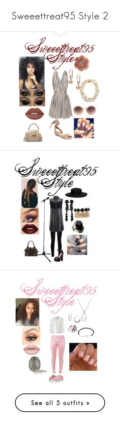 """""""Sweeettreat95 Style 2"""" by sweeettreat95 ❤ liked on Polyvore featuring 3.1 Phillip Lim, Ava & Aiden, Miss Selfridge, Lime Crime, Laura Lee Jewellery, Cathy Waterman, Linda Farrow, MANU Atelier, Gucci and Ganni"""