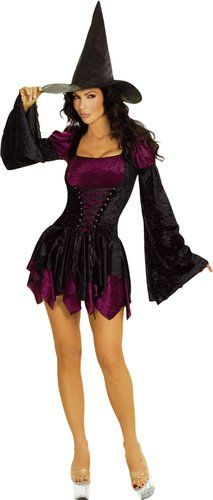 Sexy Witch Costume - $118