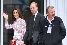 The Duke of Cambridge was joined by his wife Kate Middleton at the Sheway charity, where the Duchess of Cambridge revealed Princess Charlotte loves teddies