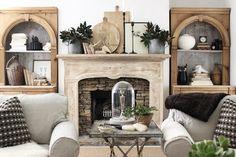 Gorgeous bookshelves!...sherry hart design