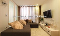 2 Bedroom Condo for Rent at The Tempo  -  Get information of this rental & other available condos or apartments for rent, go to http://bangkokcondofinder.com/bangkok-condos-for-rent/  This 2 Bedroom Condo for Rent at The Tempo is compact, functional, and fully furnished. Decorations are minimal and classic, giving it an almost romantic feel. Freehold condo with one bathroom on 52 square meters now available for rent. A small entryway leads to a small kitchen on one side