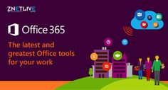 #Office365  allows #businesses  to create a private #socialnetwork  that helps your #company  stay connected with each other, share information across teams, and make rapid decisions.  Know more: https://www.znetlive.com/business-productivity-suite/
