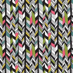 fun graphic pattern by lisa congdon