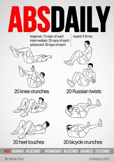 exercises + muscles it works out - Google Search