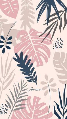 Wallpaper Tumblr Lockscreen, Pastel Iphone Wallpaper, Tropical Wallpaper, Watercolor Wallpaper, Cute Wallpaper Backgrounds, Aesthetic Iphone Wallpaper, Cellphone Wallpaper, Flower Wallpaper, Screen Wallpaper