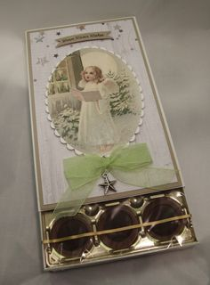 Scrapperypa: Toffifee Chocolate Box, Frame, Cards, Scrapbooking, Decor, Christmas, Creative, Picture Frame, Decoration