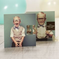 Drieluik fotokaart met 4 foto's | Tadaaz #communie #lentefeest #drieluik #fotokaart www.tadaaz.be