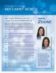 Ready for your red carpet moment? Here are Collier's step-by-step instructions for achieving the classic cat eye with a bold, red lip.